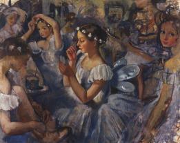 Zinaída-Serebriakova-girls-sylphides-ballet-chopiniana-1924