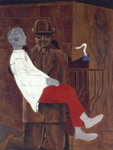 Pietà or Revolution by Night 1923 Max Ernst 1891-1976 Purchased 1981 http://www.tate.org.uk/art/work/T03252